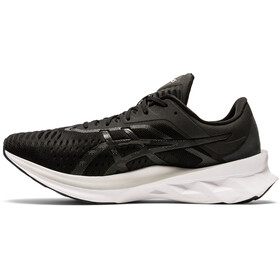 asics Novablast Schoenen Heren, black/carrier grey